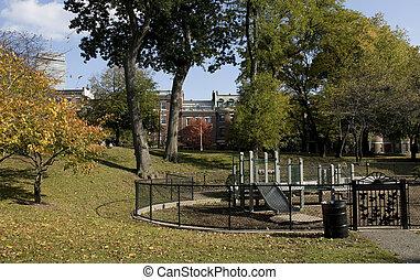 Small Park in Boston