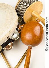 Small percussion instruments