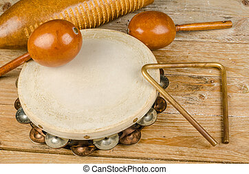 Small percussion instruments - Traditional small p'ercussion...