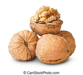 Small Pile Of Walnuts