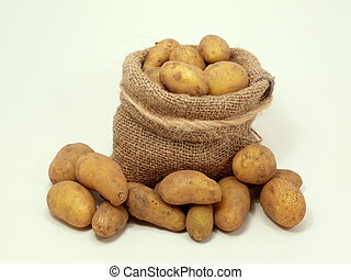 small Potatoes in the Bag