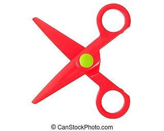 Small red scissors