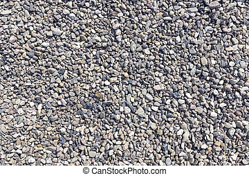 small round pebbles as bright background