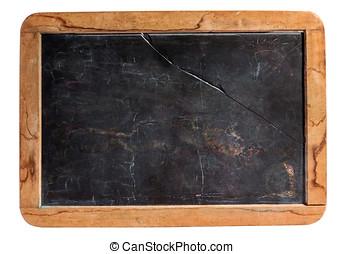 Small rustic kids school slate - Small cleaned retro kids...