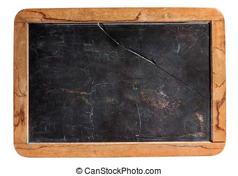 Small rustic kids school slate - Small cleaned retro kids...