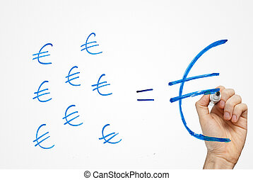 small savings make a big fortune in euro