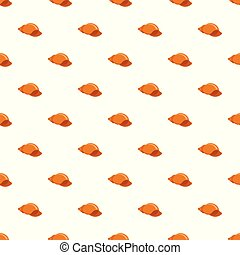 Small shell pattern seamless vector