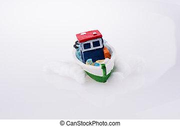 Small Ship model