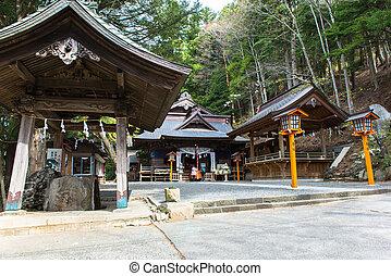 shrine on the mountain