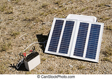 small solar energy in outdoors - It is the solar energy in...