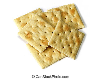 small stack of crackers