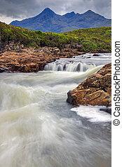 Small stream on the Isle of Skye