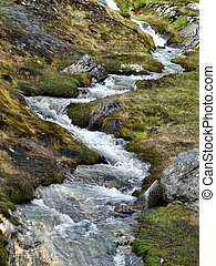 Small stream or brook in Norway