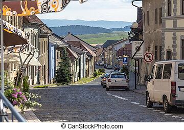 Small street in Levoca