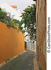 Small street of Lisbon (Portugal)
