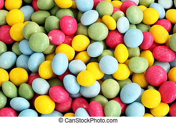 small sugar coated cake decorations