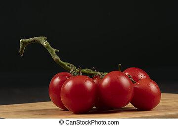 small tomato bunch