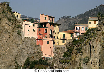 Cinque Terre - Small town in the coastal area of Cinque...