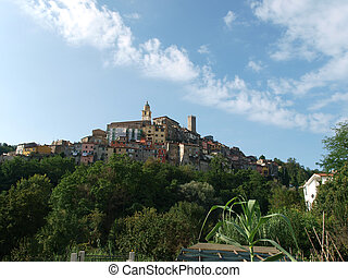 Small town In the vicinity of Cinque Terra