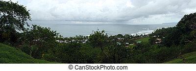 Small Town of Punta Banco Panoramic