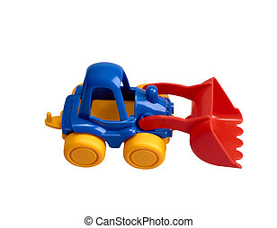 Small Toy Tractor