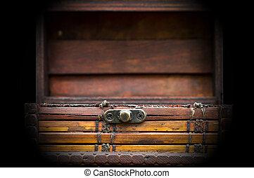 small treasure chest 002-130429 - Small treasure chest for...
