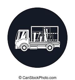 Small Truck Transports Windows Icon