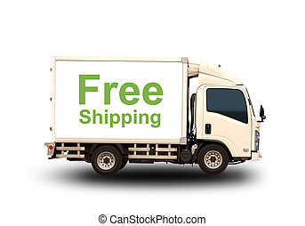 Small truck with Free shipping