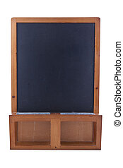 small upstanding chalkboard