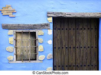 small village detail
