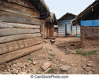 small village on a island in the Lake Victoria