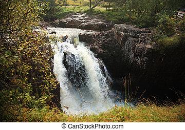 Small waterfall Scotland