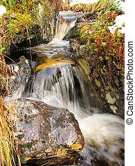 small waterfall - small waterfall...