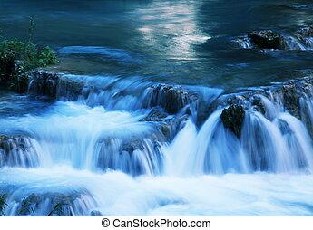 Small waterfall - Beautiful small waterfall