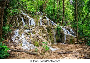 small waterfalls in KRKA National Park