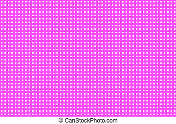 Small white dots on pink background