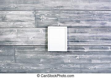Small white frame