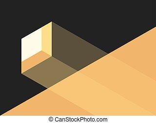 Small window, bright light