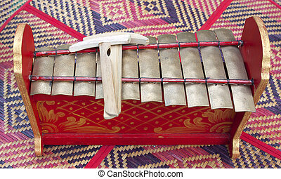 small Xylophone on the mat