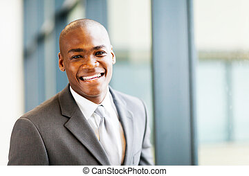smart african american businessman