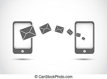 smart contact technologies vector