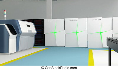 Smart factory and 3D printers
