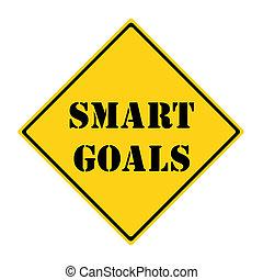 Smart Goals Sign