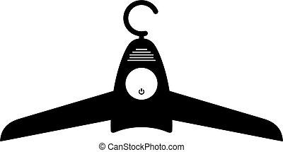 Smart hanger dryer, shade picture