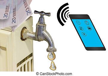 Smart home control technology.