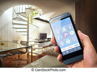 Smart Home Device - Home Control - smart house, home...