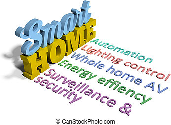 Smart home efficient automation tech - Smart home energy...