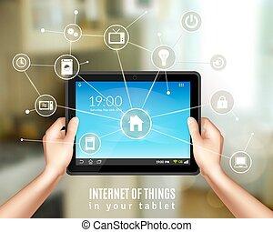 Smart Home Tablet