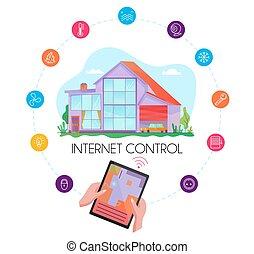 Smart House Flat Concept