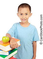 smart little boy